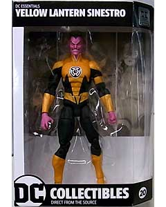 DC COLLECTIBLES DC ESSENTIALS YELLOW LANTERN SINESTRO