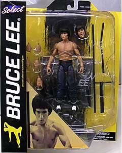 DIAMOND SELECT BRUCE LEE SELECT BRUCE LEE [SHIRTLESS] パッケージ破れ特価