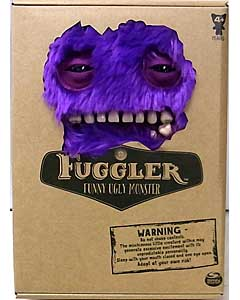 SPIN MASTER FUGGLER FUNNY UGLY MONSTER 9インチプラッシュドール MR. BUTTONS [PURPLE]