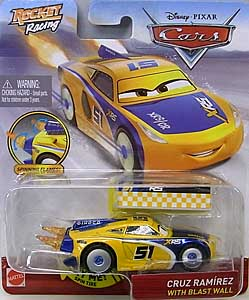 MATTEL CARS 2020 XTREME RACING SERIES ROCKET RACING シングル CRUZ RAMIREZ WITH BLAST WALL