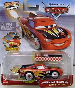 MATTEL CARS 2020 XTREME RACING SERIES ROCKET RACING シングル LIGHTNING McQUEEN WITH BLAST WALL