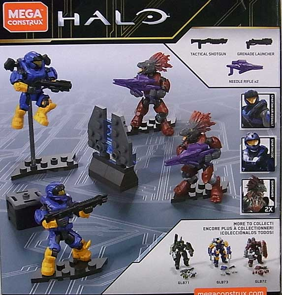 MEGA CONSTRUX HALO SWORD BASE INVASION 4PACK