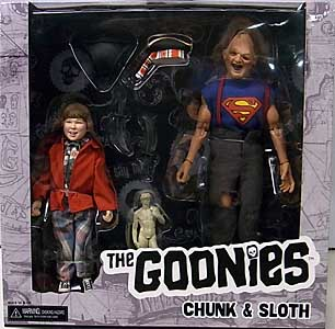 NECA THE GOONIES 8インチドール CHUNK & SLOTH 2PACK