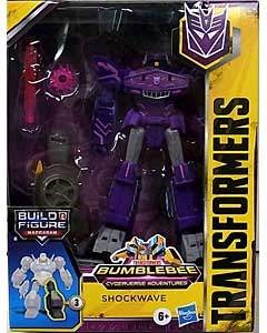 HASBRO アニメ版 TRANSFORMERS BUMBLEBEE CYBERVERSE ADVENTURE DELUXE CLASS SHOCKWAVE [MACCADAM SERIES]