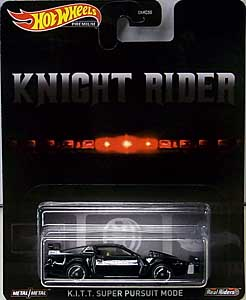 MATTEL HOT WHEELS 1/64スケール 2020 REPLICA ENTERTAINMENT KNIGHT RIDER K.I.T.T. SUPER PURSUIT MODE 台紙傷み特価