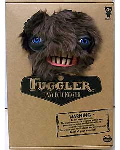 SPIN MASTER FUGGLER FUNNY UGLY MONSTER 9インチプラッシュドール SQUIDGE [BROWN FUR]