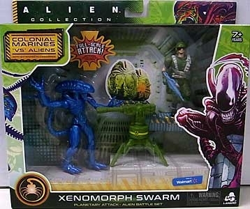 LANARD TOYS ALIEN COLLECTION XENOMORPH SWARM BATTLE SET [XENOMORPH WARRIOR]