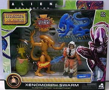 LANARD TOYS ALIEN COLLECTION XENOMORPH SWARM BATTLE SET [XENOMORPH DRONE]