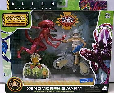 LANARD TOYS ALIEN COLLECTION XENOMORPH SWARM BATTLE SET [XENOMORPH RUNNER]