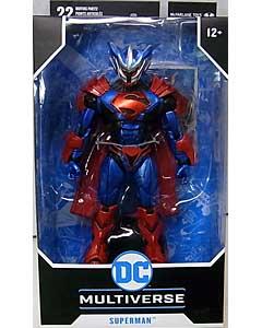 McFARLANE TOYS DC MULTIVERSE 7インチアクションフィギュア SUPERMAN UNCHAINED ARMOR
