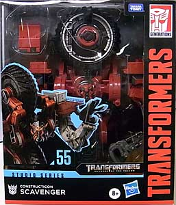 HASBRO TRANSFORMERS STUDIO SERIES LEADER CLASS CONSTRUCTICON SCAVENGER #55