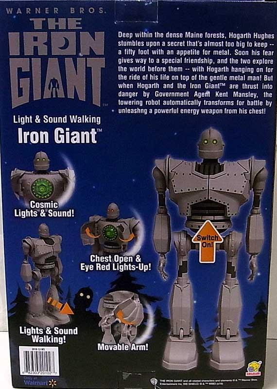 その他・海外メーカー WALMART限定 THE IRON GIANT LIGHT & SOUND WALKING IRON GIANT