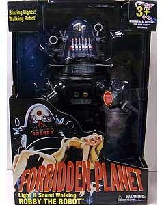 その他・海外メーカー WALMART限定 FORBIDDEN PLANET LIGHT & SOUND WALKING ROBBY THE ROBOT