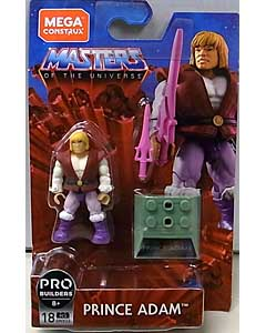 MEGA CONSTRUX MEGA CONSTRUX HEROES 2020 WAVE 1 MASTERS OF THE UNIVERSE PRINCE ADAM ワケアリ特価