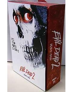 NECA EVIL DEAD II WALMART限定 7インチアクションフィギュア ULTIMATE HERO ASH パッケージ傷み特価
