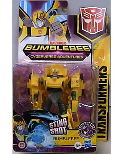 HASBRO アニメ版 TRANSFORMERS BUMBLEBEE CYBERVERSE ADVENTURE WARRIOR CLASS BUMBLEBEE