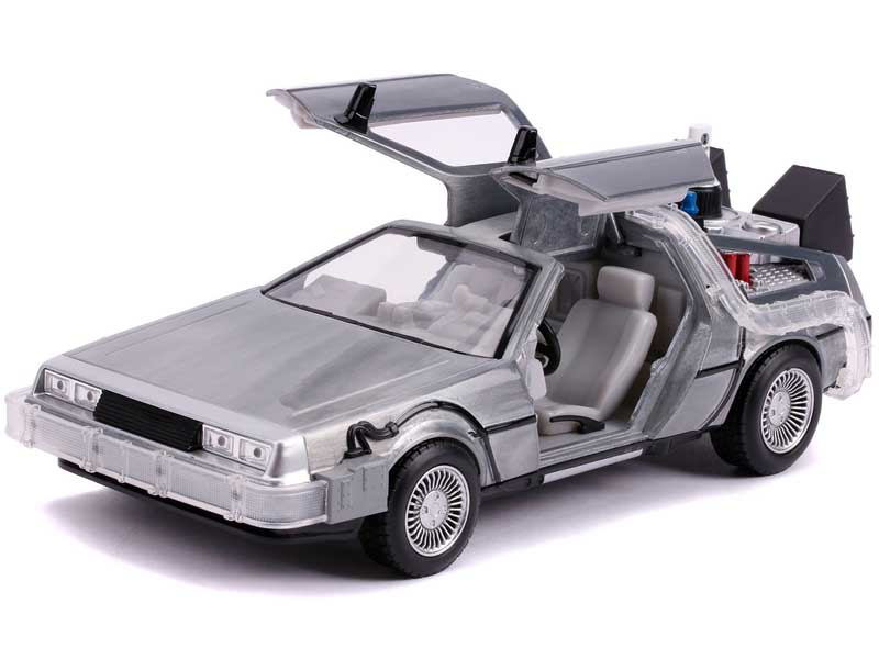 JADA TOYS METALS DIE CAST 1/24スケール BACK TO THE FUTURE PART II TIME MACHINE