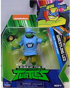 PLAYMATES RISE OF THE TEENAGE MUTANT NINJA TURTLES ベーシックフィギュア WRESTLING LEO