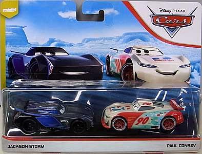 MATTEL CARS 2020 2PACK JACKSON STORM & PAUL CONREV 台紙傷み特価