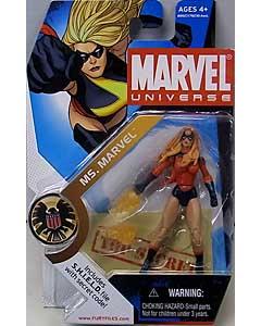 HASBRO MARVEL UNIVERSE SERIES 1 #022 VARIANT MS.MARVEL