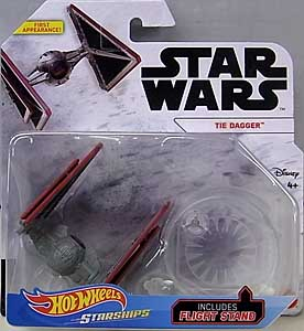 MATTEL HOT WHEELS STAR WARS DIE-CAST VEHICLE 2020 TIE DAGGER