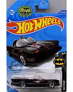 MATTEL HOT WHEELS 1/64スケール 2020 BATMAN CLASSIC TV SERIES BATMOBILE #197