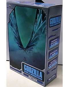 NECA GODZILLA: KING OF THE MONSTERS 7インチスケールアクションフィギュア MOTHRA POSTER VERSION