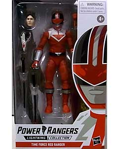 HASBRO POWER RANGERS LIGHTNING COLLECTION 6インチアクションフィギュア TIME FORCE RED RANGER