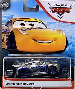MATTEL CARS 2020 シングル DINOCO CRUZ RAMIREZ [SILVER COLLECTION] 台紙傷み特価