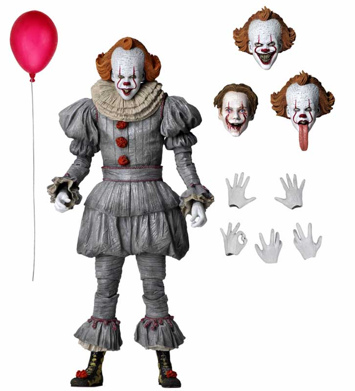NECA IT CHAPTER TWO 7インチアクションフィギュア ULTIMATE PENNYWISE
