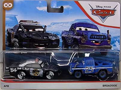 MATTEL CARS 2020 2PACK APB & BROADSIDE ブリスター傷み特価