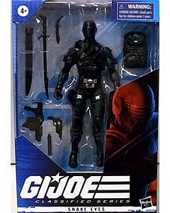HASBRO G.I.JOE 6インチアクションフィギュア CLASSIFIED SERIES SNAKE EYES