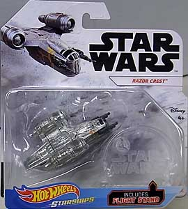 MATTEL HOT WHEELS STAR WARS DIE-CAST VEHICLE 2020 RAZOR CREST 台紙傷み特価