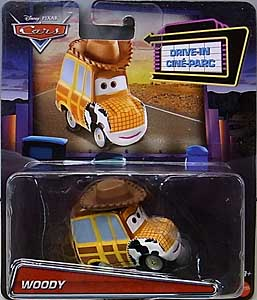 MATTEL CARS 2020 DRIVE-IN CINE-PARC シングル WOODY