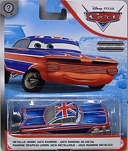 MATTEL CARS 2020 シングル METALLIC UNION JACK RAMONE [SCAVENGER HUNT]