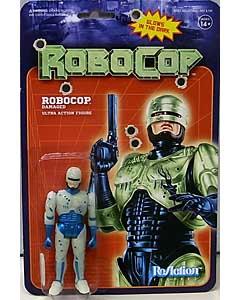 SUPER 7 REACTION FIGURES 3.75インチアクションフィギュア ROBOCOP ROBOCOP [BATTLE DAMAGED] [GLOW IN THE DARK]