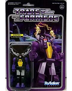 SUPER 7 REACTION FIGURES 3.75インチアクションフィギュア TRANSFORMERS WAVE 2 SHRAPNEL