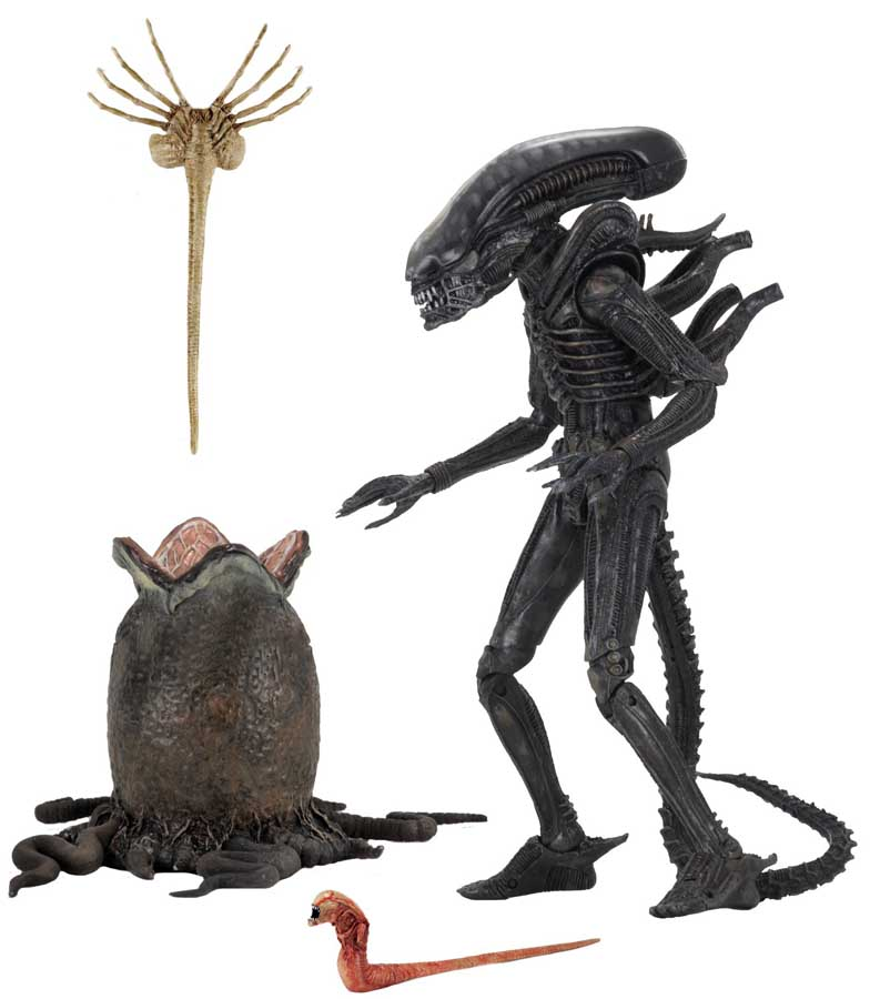 NECA ALIEN 7インチアクションフィギュア ALIEN 40TH ANNIVERSARY ULTIMATE BIG CHAP