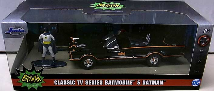 JADA TOYS METALS DIE CAST 1/32スケール BATMAN CLASSIC TV SERIES CLASSIC TV SERIES BATMOBILE & BATMAN