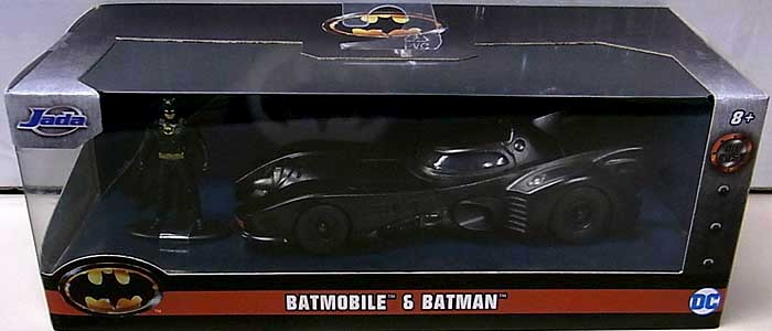 JADA TOYS METALS DIE CAST 1/32スケール BATMAN 1989 BATMOBILE & BATMAN