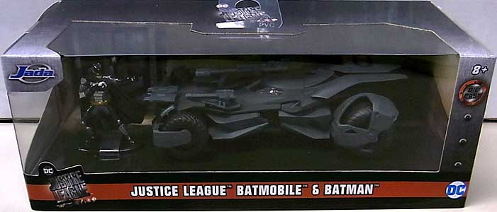 JADA TOYS METALS DIE CAST 1/32スケール JUSTICE LEAGUE BATMOBILE & BATMAN