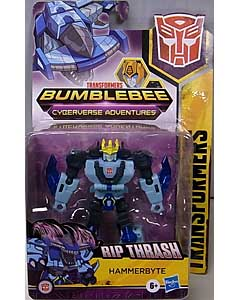 HASBRO アニメ版 TRANSFORMERS BUMBLEBEE CYBERVERSE ADVENTURE WARRIOR CLASS HAMMERBYTE 台紙傷み特価