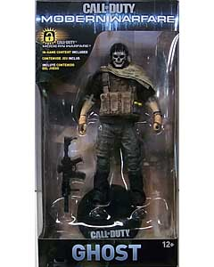 McFARLANE TOYS CALL OF DUTY: MODERN WARFARE 7インチアクションフィギュア GHOST