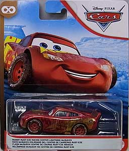 MATTEL CARS 2020 シングル MUDDY RUST-EZE RACING CENTER LIGHTNING McQUEEN