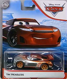 MATTEL CARS 2020 シングル TIM TREADLESS [SILVER COLLECTION] 台紙傷み特価