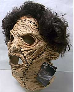 TRICK OR TREAT STUDIOS ラバーマスク THE TEXAS CHAINSAW MASSACRE 3D LEATHERFACE