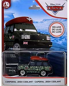 MATTEL CARS 2020 DELUXE CORPORAL JOSH COOLANT 台紙傷み特価