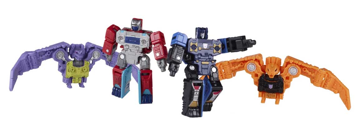 HASBRO TRANSFORMERS GENERATIONS SELECT MICROMASTER WFC-GS10 SOUNDWAVE SPY PATROL 4PACK