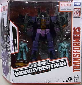HASBRO NETFLIX TRANSFORMERS: WAR FOR CYBERTRON TRILOGY VOYAGER CLASS DECEPTICON HOTLINK