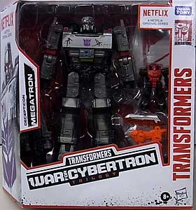 HASBRO NETFLIX TRANSFORMERS: WAR FOR CYBERTRON TRILOGY VOYAGER CLASS DECEPTICON MEGATRON パッケージ傷み特価
